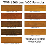 TWP 1500 Color Chart